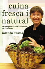 iolanda Bustos i llibre cuina fresca i natural