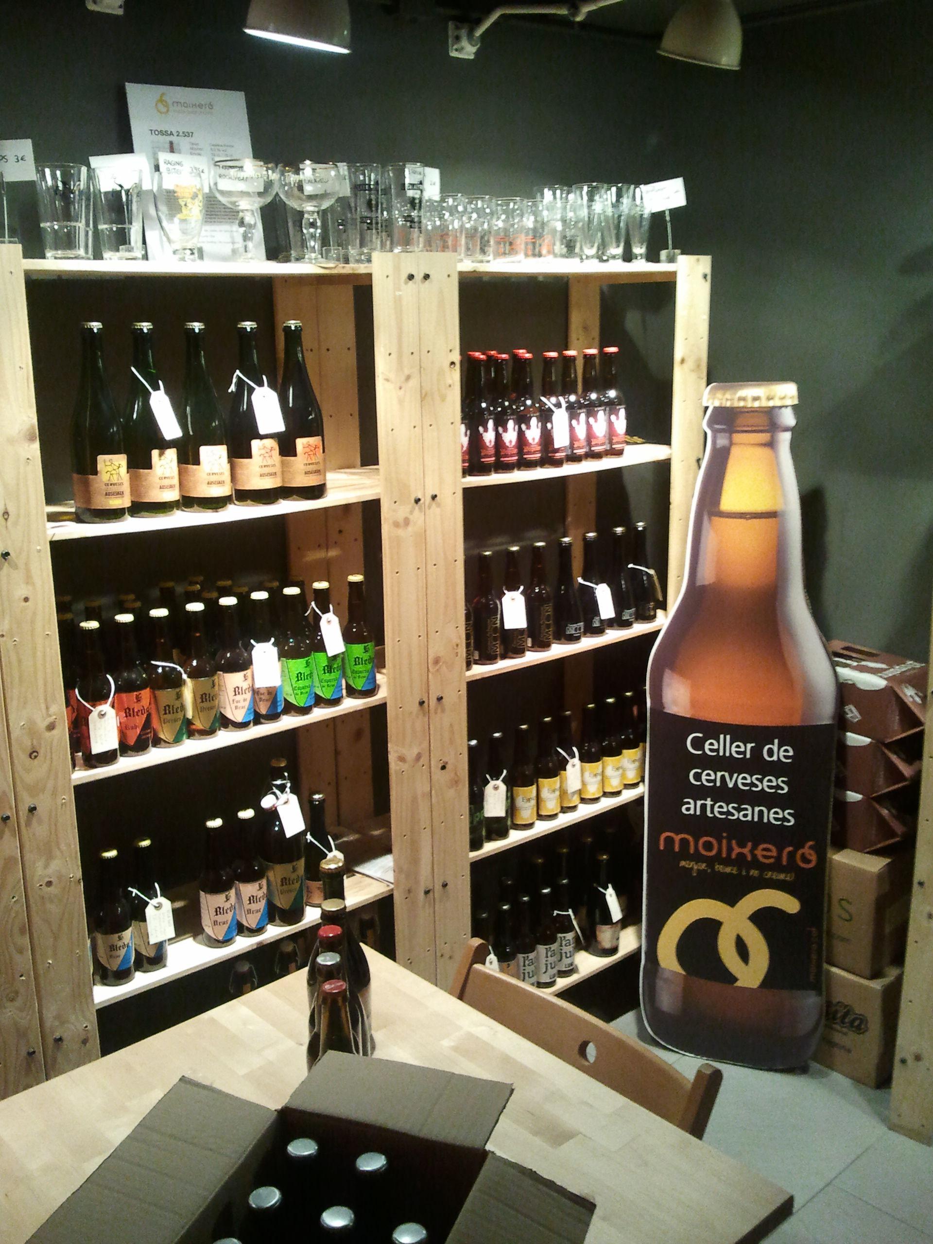 celler cerveses artesanes Moixeró