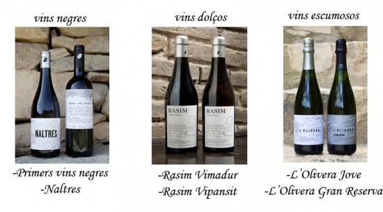 oliveres vins