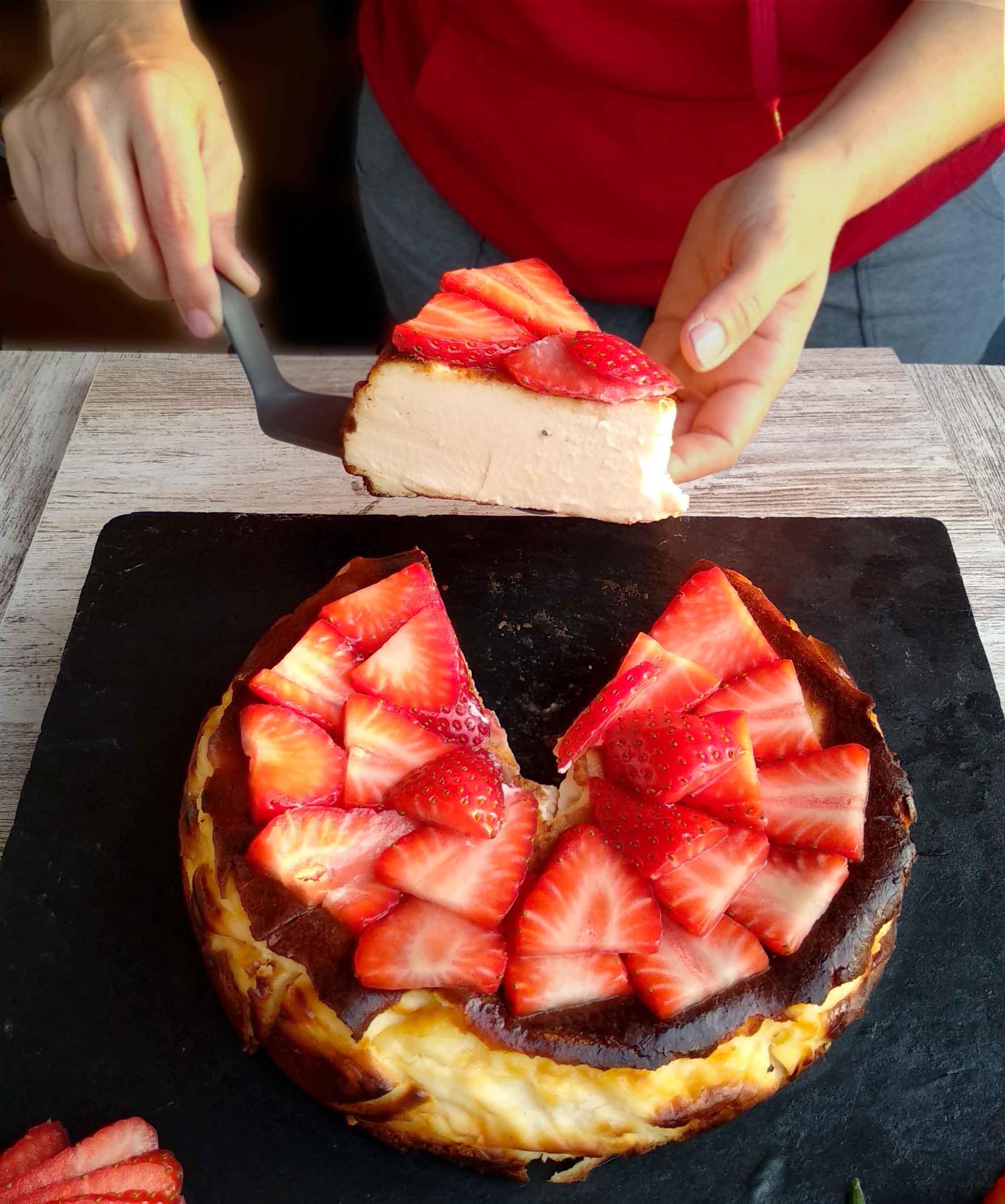 com fer pastís de formatge