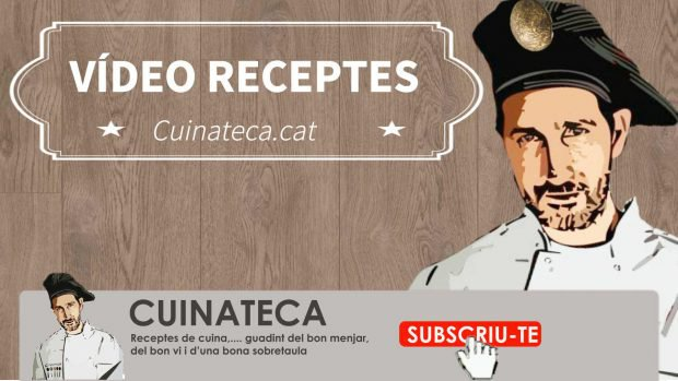 vídeo receptes en català